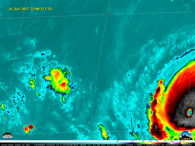 Watch and share Hurricane Fernanda GIFs by SpaceBased on Gfycat