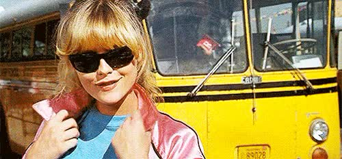 Watch this GIF on Gfycat. Discover more cool rider, grease 2, hey girl hey, michelle pfeiffer, michelle pfeiffer is my root GIFs on Gfycat