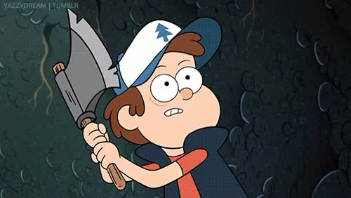 Watch and share Dipper Strikes Blood GIFs on Gfycat