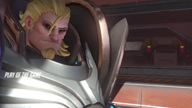 Watch and share Overwatch GIFs and Reinhardt GIFs by Tombstone on Gfycat