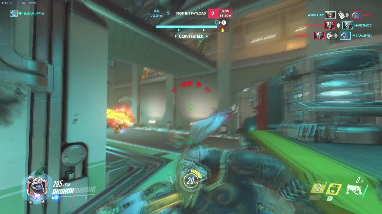 Competitiveoverwatch, GameDeals, Overwatch, Roadhog hook bug that lost me a game (reddit) GIFs