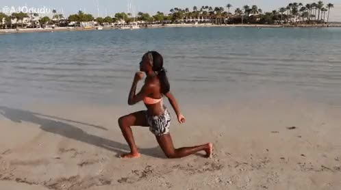 Watch FITNESS Online! GIF on Gfycat. Discover more AJ Odudu, body, burning, fat, fitness, fitness workout, home workout, strong, workout GIFs on Gfycat