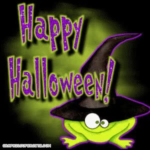 Watch and share Happy-Halloween-Frog.gif GIFs on Gfycat