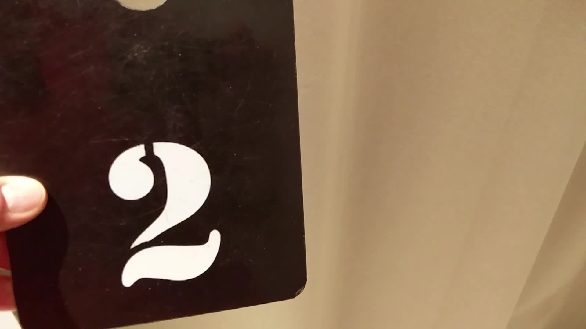 crappydesign, Fitting room number tag GIFs