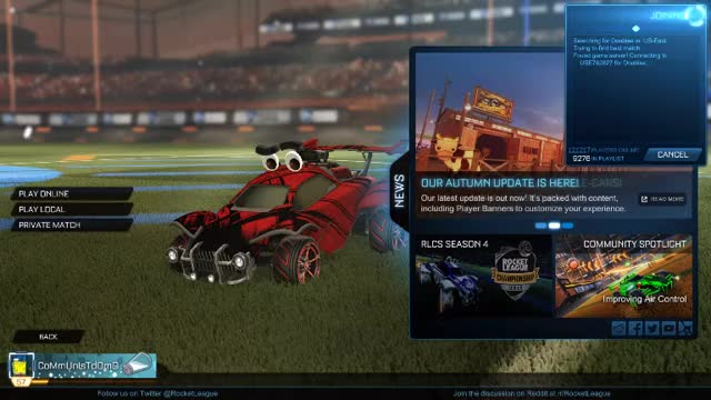 Watch and share Rocket League 10-15-2017 21-55-28-961 GIFs on Gfycat