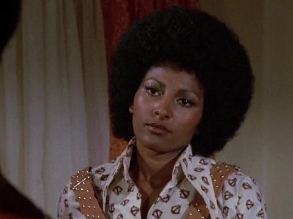blaxploitation, extreme reaction, eye roll, foxy brown, frustrated, frustration, pam grier, reactions, rolling eyes, Foxy Brown - Pam grier extreme eye roll GIFs