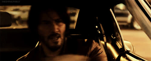 driving, john wick, keanu reeves, John wick GIFs
