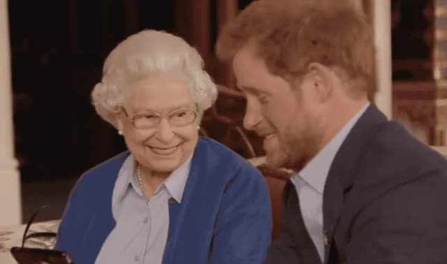 Watch this prince harry GIF by GIF Queen (@ioanna) on Gfycat. Discover more bomb, boom, drop, elisabeth, epic, funny, harry, hilarious, it, laugh, lol, loud, mic, microphone, out, prince, queen, the, uk GIFs on Gfycat
