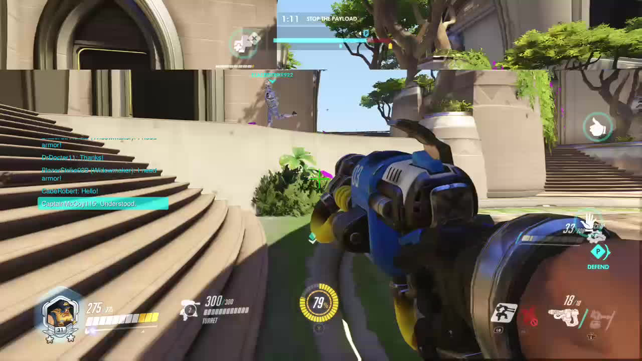 overwatch, torbjorn, xbox one, Tricking Widow into doing you a favor GIFs