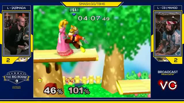 TBH6 SSBM - C9 | Mango (Fox) Vs. [A]rmada (Peach) - Smash Melee Grand Finals