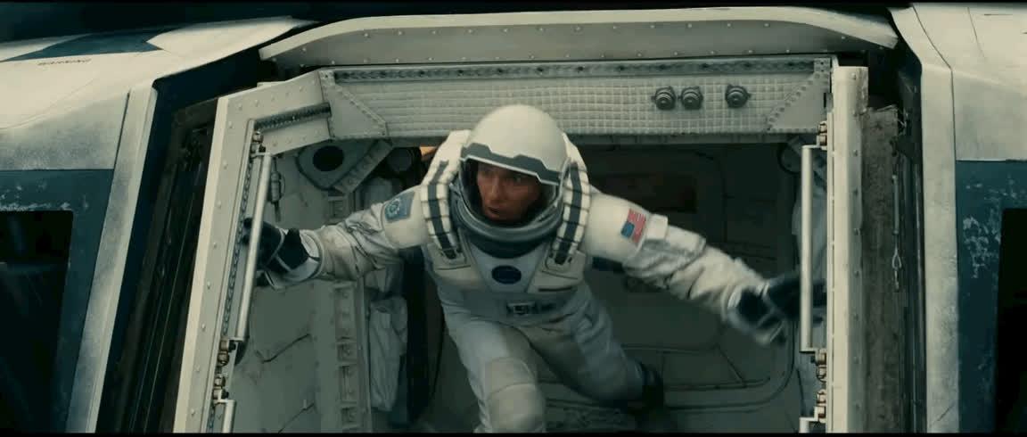 interstellar, matthew mcconaughey, Matthew McConaughey vs. the universe. GIFs