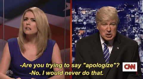 alec baldwin, never, saturday night live, snl, Maybe never GIFs