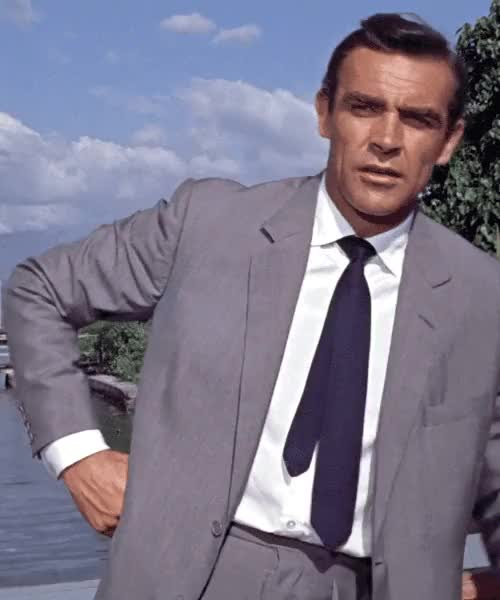 Watch and share Sean Connery Gif GIFs and James Bond Gif GIFs on Gfycat