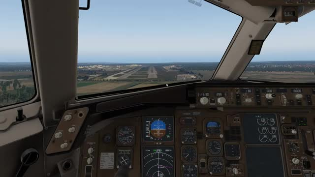 X-Plane 11: 767 through morning clouds GIF | Find, Make & Share