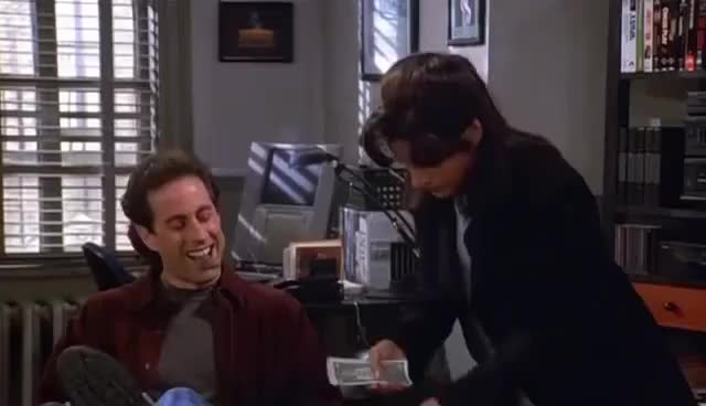 Watch Seinfeld Evil Laugh GIF on Gfycat. Discover more related GIFs on Gfycat