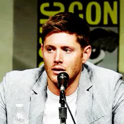 Watch Supernatural Cast Daily GIF on Gfycat. Discover more *, 10k, 1k, 5k, by maria, jensen ackles, sdcc12, spnedit GIFs on Gfycat