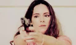 Watch and share Madeleine Stowe GIFs and Gun GIFs on Gfycat