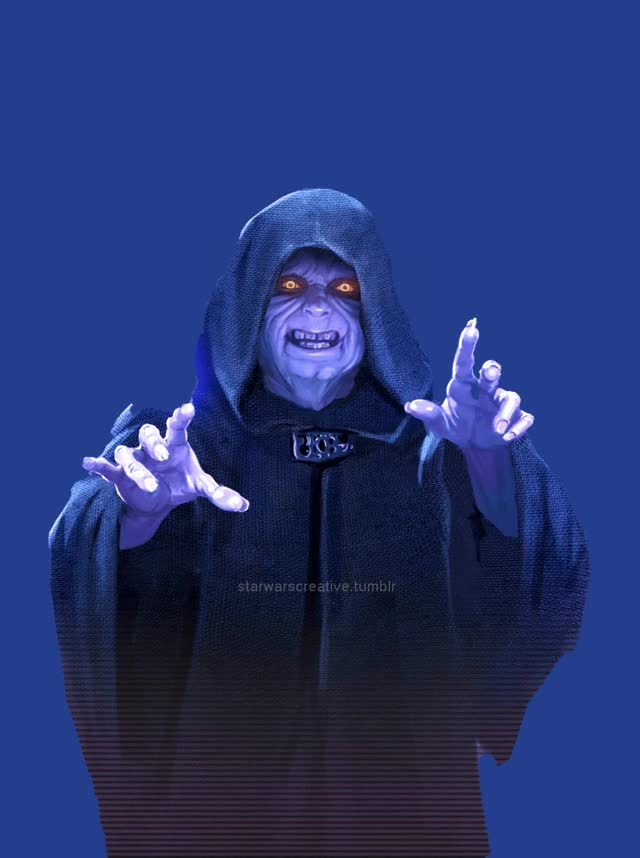 Watch and share Emperor Palpatine GIFs by Darkside Creative on Gfycat