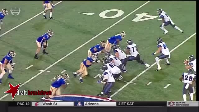 Watch and share QB Paxton Lynch Pressured GIFs on Gfycat