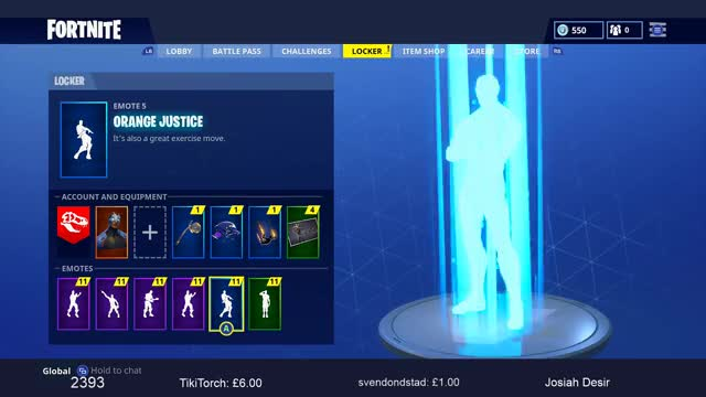 watch new orange justice emote dance season 4 battle pass fortnite battle royale gif - fortnite good game emote