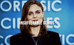 Watch and share Temperance Brennan GIFs and Emily Deschanel GIFs on Gfycat
