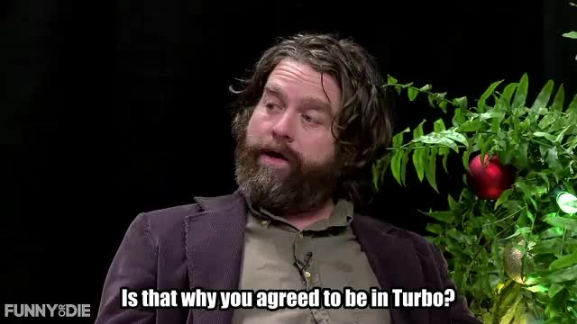 Watch and share Between Two Ferns With Zach Galifianakis GIFs and Samuel L Jackson GIFs by Funny Or Die on Gfycat