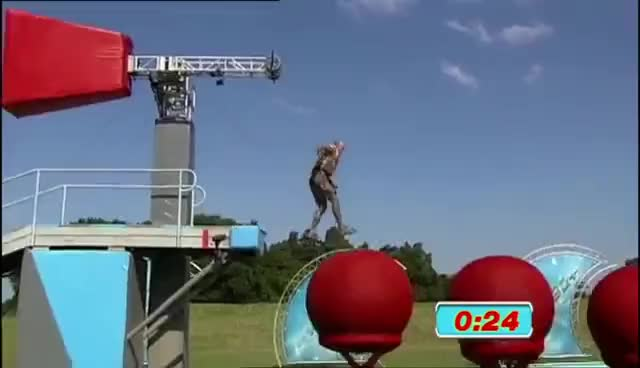 Watch and share Fastest Run Ever | Wipeout GIFs on Gfycat