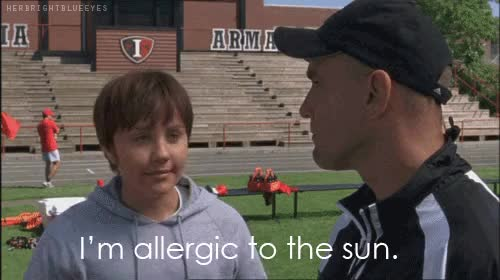 Watch allergic GIF on Gfycat. Discover more deathly allergic, funny, hpe, im allergic to the sun, my excuse, she's the man, sun GIFs on Gfycat