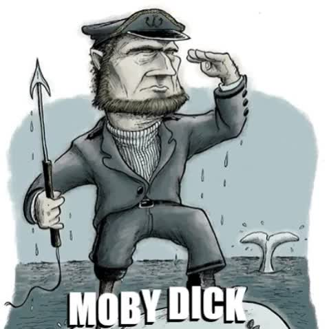 Watch Animated GIF - GIF by @mo_gannon on Gfycat. Discover more Captain Ahab, Moby Dick GIFs on Gfycat