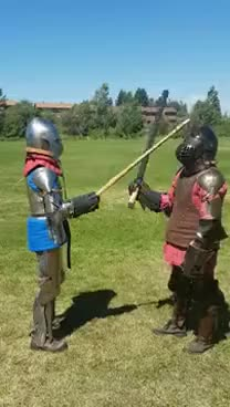 Watch and share Mature Adults In Armour GIFs on Gfycat