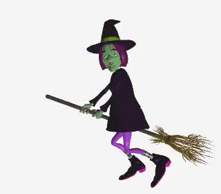 Watch and share Witch Animated GIFs on Gfycat