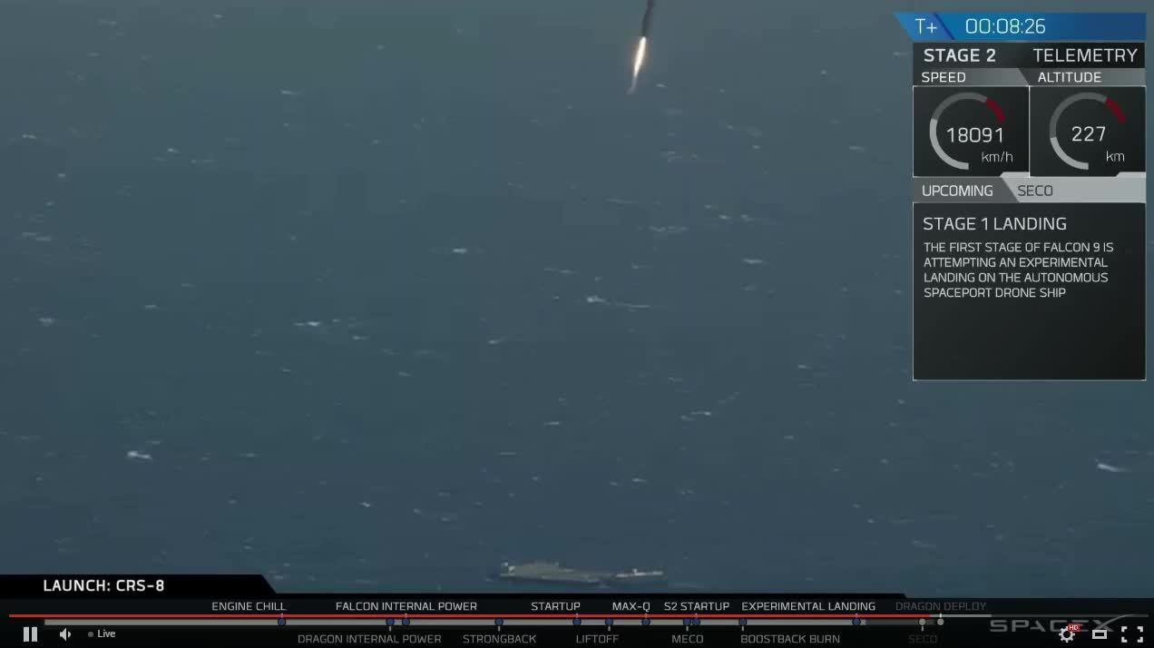 SpaceX Falcon 9 rocket launches spy satellite  CBS News