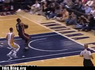 Watch epic fail lebron fail GIF on Gfycat. Discover more related GIFs on Gfycat