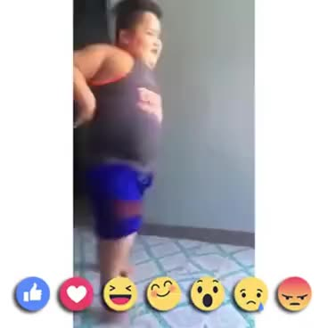Watch and share Fat Kid Dancing To Work 😅😅😅😅 GIFs on Gfycat
