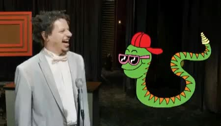 Watch Snakey and Eric Andre GIF on Gfycat. Discover more related GIFs on Gfycat