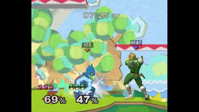 Watch and share Captain Falcon GIFs and Raptor Boost GIFs by lunaryssf2 on Gfycat