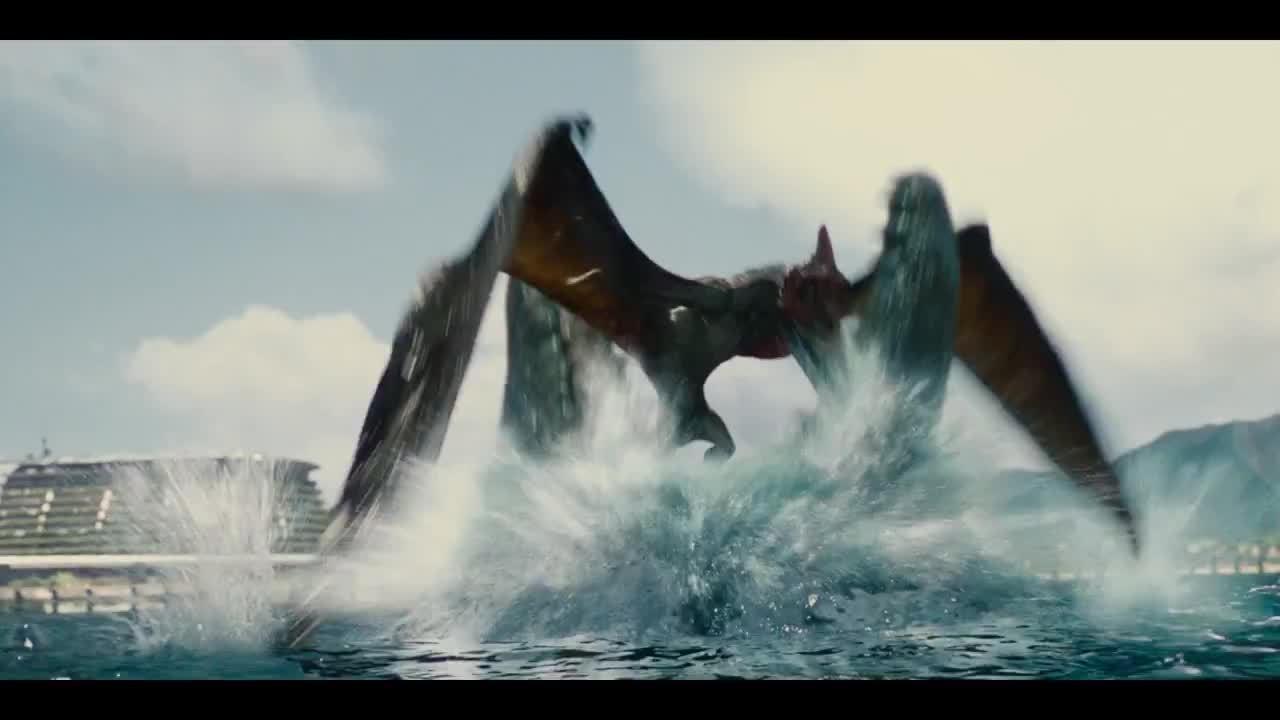 noisygifs, Jurassic World - Official Global Trailer (HD) (reddit) GIFs