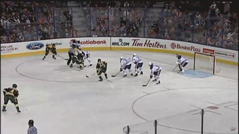 edmontonoilers, hockey, Rachinski goal 1-0 UofA GIFs