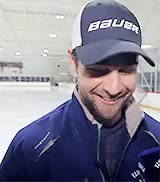 Watch and share He's Always Smiling GIFs and Vancouver Canucks GIFs on Gfycat