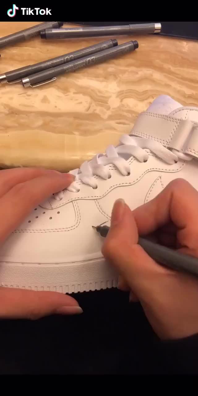 DIY own shoes GIFs