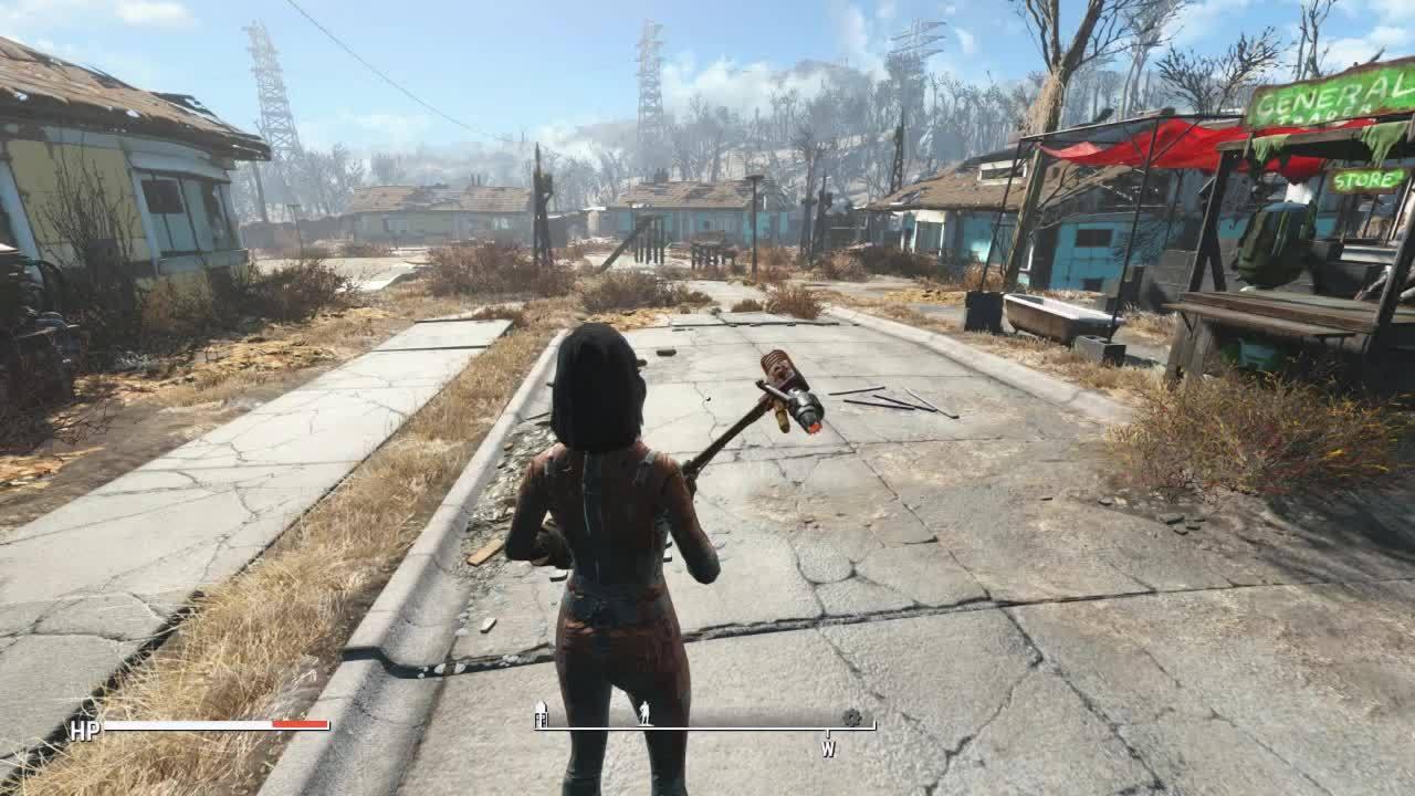 Fallout, Fallout 4, FalloutMods, fallout 4 weapon swap troubleshooting GIFs