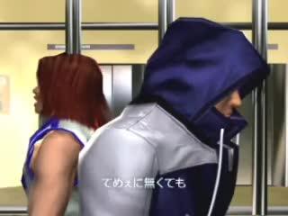 Tekken, ending, hwoarang, jin, WELL I DO GIFs