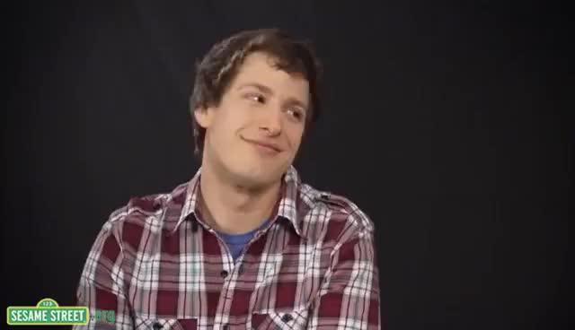 Watch Andy Samberg Sesame St GIF on Gfycat. Discover more Andy Samberg GIFs on Gfycat
