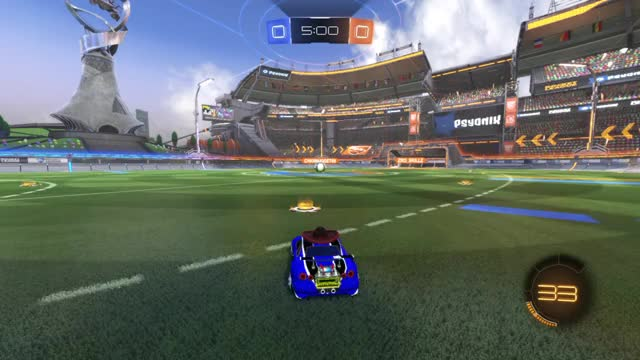 Watch and share Rocket League GIFs and Double Touch GIFs by doingitforthemusic on Gfycat