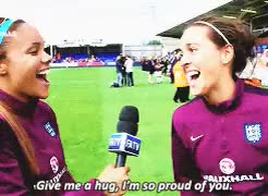 Watch this trending GIF on Gfycat. Discover more *gif, alex scott, engwnt, fara williams GIFs on Gfycat