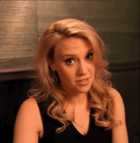 cute, eye, kate, live, mckinnon, night, saturday, snl, wink, winking, Kate's wink GIFs