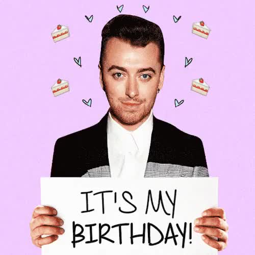 Watch and share Happy Birthday GIFs and Stay With Me GIFs on Gfycat