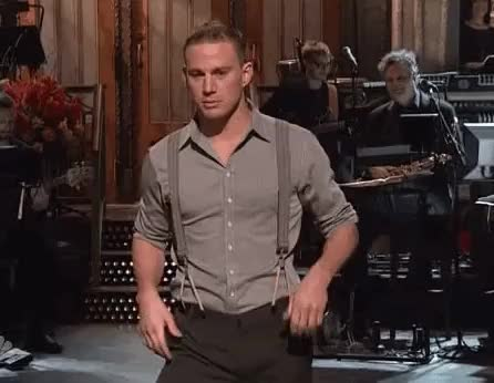 Watch and share Saturday Night Live GIFs and Channing Tatum GIFs on Gfycat