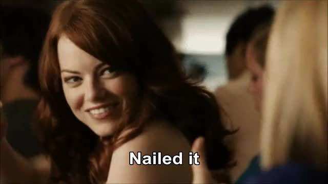 Watch and share Emma Stone GIFs and Nailed It GIFs by Reactions on Gfycat