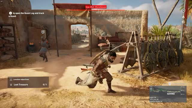 Watch and share Assassin's Creed Origins - Unlucky GIFs on Gfycat